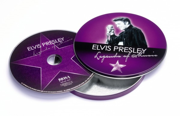 BRISA CD ELVIS PRESLEY - LEGEND OF MUSIC