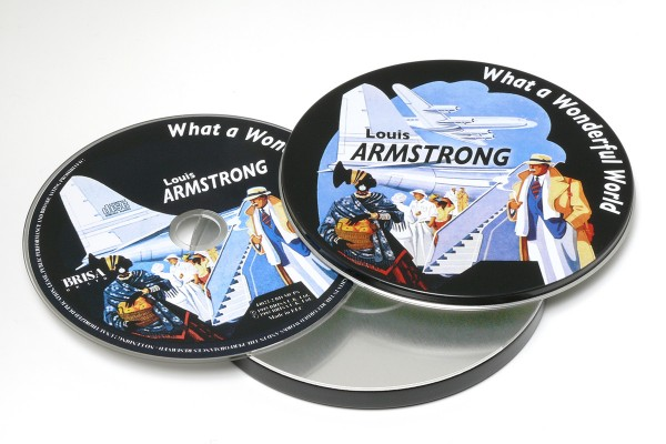BRISA CD ARMSTRONG LOUIS - WHAT A WONDERFUL WORLD