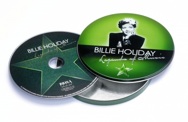 BRISA CD BILLIE HOLIDAY - LEGEND OF MUSIC