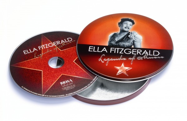 BRISA CD ELLA FITZGERALD - LEGEND OF MUSIC