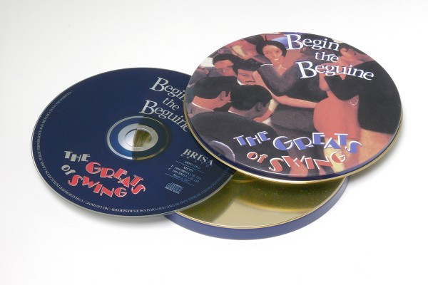 BRISA CD BEGIN THE BEGUINE - THE GREATS OF SWING