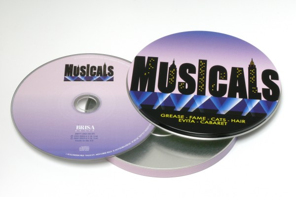 BRISA CD MUSICALS - COVER VERSIONS (TIN031)
