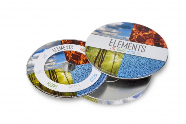 BRISA CD ELEMENTS (FIRE,WATER,EARTH,AIR)
