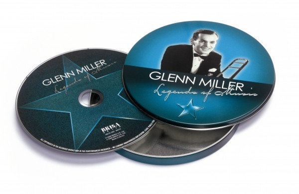 BRISA CD GLENN MILLER - LEGENDS OF MUSIC