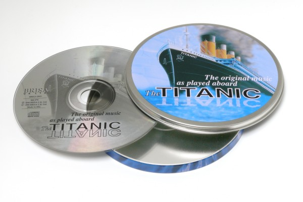 BRISA CD TITANIC / THE TITANIC BAND