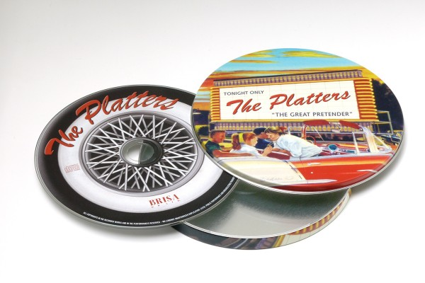BRISA CD THE PLATTERS - THE GREAT PRETENDER