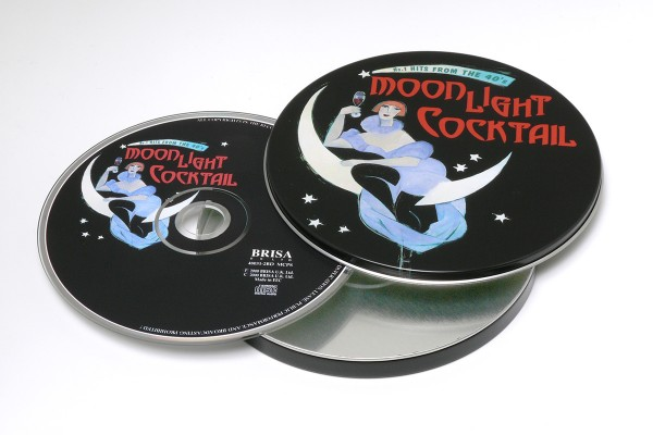 BRISA CD MOONLIGHT COCKTAIL - NO.1 HITS FROM 40´S