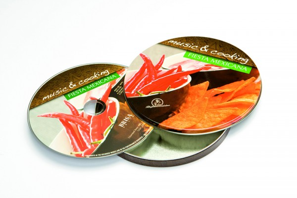 BRISA CD FIESTA MEXICANA - MUSIC & COOKING (E)