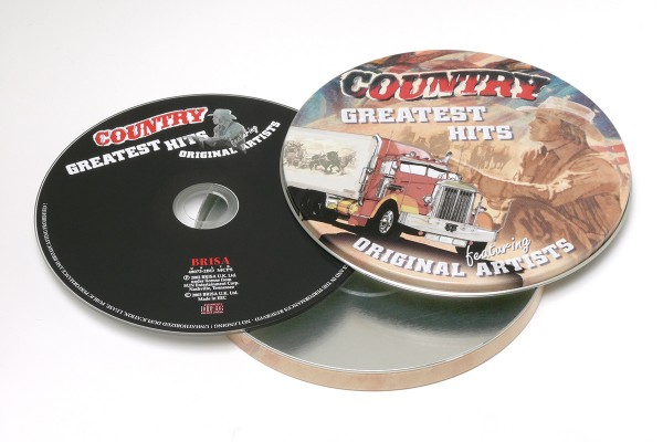 BRISA CD COUNTRY GREATEST HITS (DNR617)